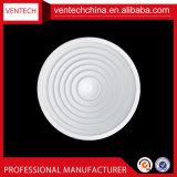 Diffusore rotondo di alluminio dell'aria dei diffusori del soffitto del condizionatore d'aria