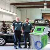 Máquina de limpieza de inyectores de combustible del motor