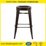 Da cadeira de alumínio quente da barra das vendas do lazer da cadeira do metal do tamborete de barra mobília moderna