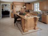 Ontwerpen van de Keukenkast van de luxe de Stevige Houten Franse voor Kleine Keukens