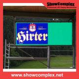 전시 화면을 광고하는 옥외 풀 컬러 P10 임대료 LED