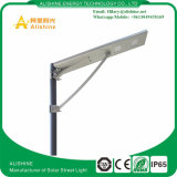 Luz de calle solar integrada del sensor de movimiento de IP65 30W LED