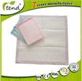 L'hôpital matelas de lit en vertu de tampons jetables pour incontinence adultes protecteur