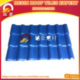 El azulejo de azotea del PVC del ASA de los materiales de construcción/la casa plásticos diseña la azotea del color del aislante/el azulejo de azotea de la resina sintetizada