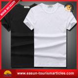 Lunga fila all'ingrosso maglietta del poliestere di bianco di 100% per gli adulti