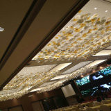 De Verlichting van de Tegenhanger van het Glas van de Bloem van de manier met de Hal van het Hotel