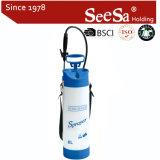 Spruzzatore manuale di plastica della pompa di pressione di mano di pressione d'aria del giardino 8L di Shixia Seesa GS Aprroved (SX-CSG8C)