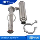 側面エントリ(角度のタイプ)衛生ステンレス鋼のこし器クランプ接続