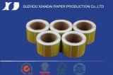 Le papier thermosensible et l'étiquette du marché de papier thermique la plus populaire de la qualité de roulis