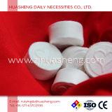 Wegwerfhandtücher mit Münzen-Form-komprimierter Tablette