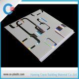 Heiße stempelnde Breite Belüftung-Wand der Farbe Belüftung-Deckenverkleidung-25cm