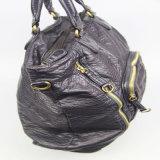 Gewaschene PU-weiche Handtaschen-Frauen-Form-Schulter-Handtasche