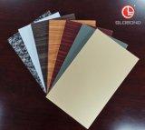 Panel compuesto GLOBOND FR ignífugo de aluminio (PE-351 verde)
