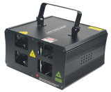 4つのヘッドRGBフルカラーのレーザー光線の段階の照明