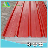 Acero corrugado de gama alta de techo sándwich de espuma el panel de pared para almacén