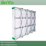 3 * 3 Pop up Fabric Display Stand Backwalls