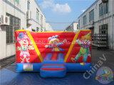 Payaso inflables Mini saltando bouncer para niños