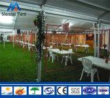 Tente mobile promotionnelle d'événement de restaurant avec le mur partiellement en verre