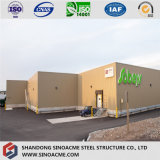 En todo el mundo Diseño Modular prefabricados edificio multifuncional Estructura de acero