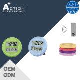 Batterie couleur numérique sans fil Doobell avec calendrier et température