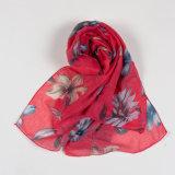نساء فراشة طبلة ليّنة طويلة عنق لفاف شاش وشاح نابض فصل خريف وشاح ([سو105])