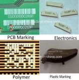 Tipo vertical máquina de Hzvc -20 de la marca de la etiqueta de plástico del laser del CO2 de China