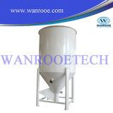 La secadora plástica para el plástico granula el material