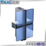 Fabricants de mur en rideau en aluminium glacé
