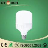 Aluminio del plástico del bulbo 6-38W de la dimensión de una variable de la eficacia alta T de Ctorch