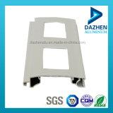 Perfil de aluminio de la protuberancia del rodillo de la cabina de cocina de la puerta popular del obturador