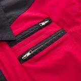 Camisa de algodão ocidental do estilo para a cor do contraste da roupa do clube dos homens