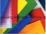 Le panneau creux de pp/a ridé la feuille en plastique 1000*2000, 1800*1200 pour la protection