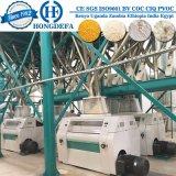 Máquinas de moedura de moedura brancas da refeição do milho do moinho da farinha de milho do milho