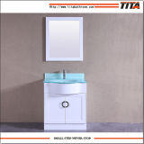 Vanità superiore T9229-30W della stanza da bagno del bacino di vanità di vetro Tempered singola