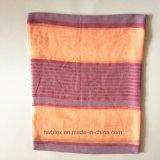 Sciarpa d'imitazione tessuta orizzontale molle del cotone a strisce (HWBPS801)