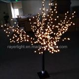 2,4M LED multicolor decoração de árvore de Natal para exterior