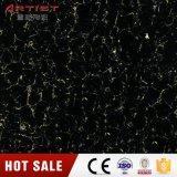 600X600mm安いPulatiの黒い磨かれた磁器のタイル