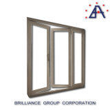 오스트레일리아 표준 Tempered 이중 유리로 끼워진 알루미늄에 의하여 짜맞춰지는 여닫이 문 프렌치 도어
