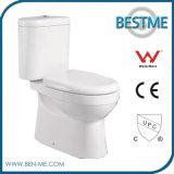 Туалет Wc для ванной комнаты с отчетом по испытанию водяной знак