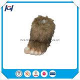 La novedad de la moda invierno cálido Big Foot gracioso Animal zapatillas