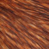 Tessuto lungo falso della pelliccia del mucchio della pelliccia artificiale della pelliccia del Faux della pelliccia con il mackintosh per l'indumento di POM/Child
