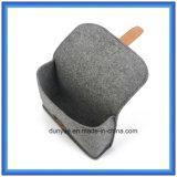 Bolso portable sentido lanas del almacenaje del diseño simple pequeño, bolso/bolsa cosméticos de la dimensión de una variable del sobre del regalo de la promoción