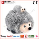 아이를 위한 새로운 디자인 견면 벨벳 박제 동물 Hedgehog 장난감