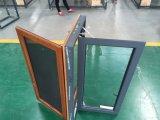 Hout van het Product van Woodwin het Hoofd en het Samengestelde Venster van het Aluminium