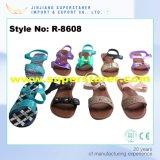 중국 PVC 우연한 여자 샌들, 형식 열려있는 발가락 움츠린 숙녀 샌들