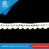 Tessuto svizzero organico del merletto del cotone, commercio all'ingrosso del testo fisso del merletto