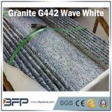 Azulejo de suelo de piedra Polished vitrificado blanco de azulejo del granito del azulejo de la onda del material de construcción