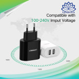 Double chargeur USB Ugreen Téléphone Mobile 5V3.4A voyage portable universel Chargeur mural