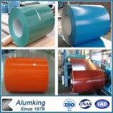 PE/PVDF 공장 색깔에 의하여 입히는 알루미늄 코일