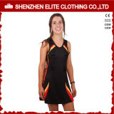 Impression par sublimation Fitness professionnel Mesdames Netball Uniforms robe (ELTNBJ-69)